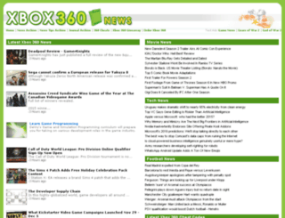 xbox360news.com screenshot