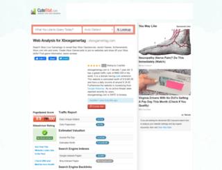 xboxgamertag.com.cutestat.com screenshot