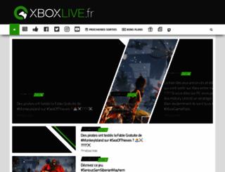 xboxlive.fr screenshot