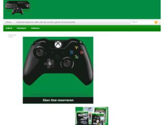 xboxone-kopen.be screenshot