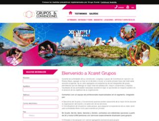 xcaretgrupos.com screenshot