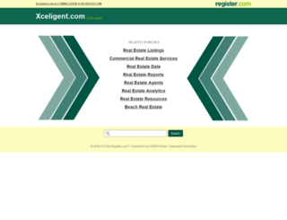 xceligent.com screenshot