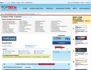 xcellimark.topseos.com screenshot