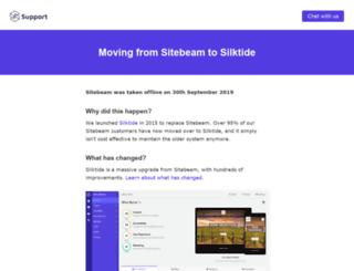 xcelvations.sitebeam.net screenshot