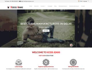 xcessjeans.com screenshot