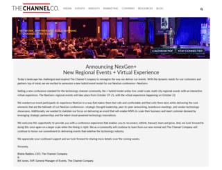 xchange-events.com screenshot