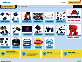 xcluma.com screenshot