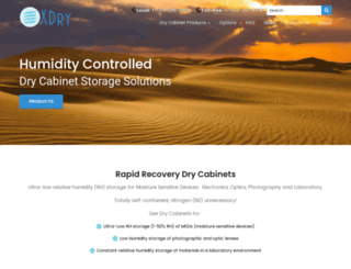 xdry.com screenshot