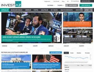 xeber.investaz.az screenshot