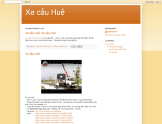 xecauhue.blogspot.com screenshot
