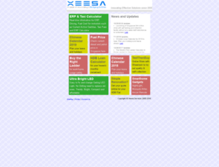 xeesa.com screenshot