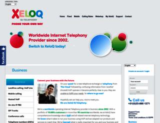 xeloq.com screenshot