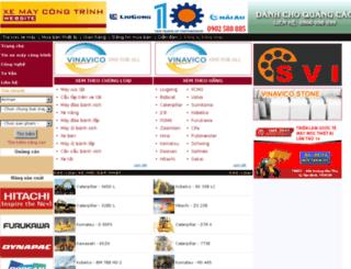 xemaycongtrinh.com.vn screenshot