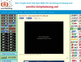 xemtivi.lichphatsong.net screenshot
