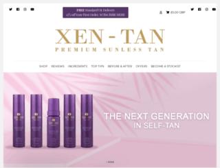 xen-tan.co.uk screenshot