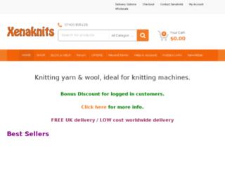 xenaknits.com screenshot