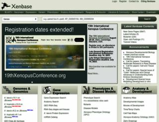 xenbase.org screenshot