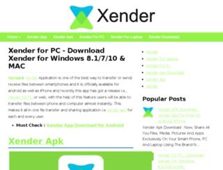 xenderapk.com screenshot