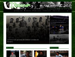 xenen.com.ar screenshot