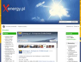 xenergy.com.pl screenshot