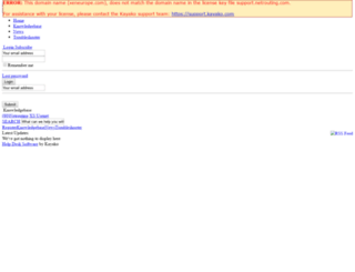 xeneurope.com screenshot