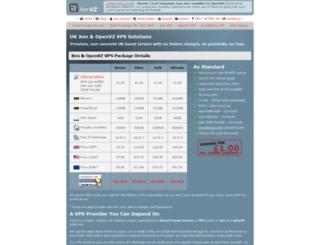 xenvz.co.uk screenshot