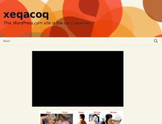 xeqacoq.wordpress.com screenshot