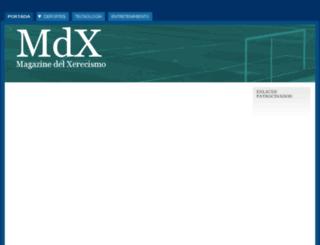 xerecismo.com screenshot