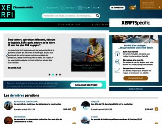 xerfi.com screenshot