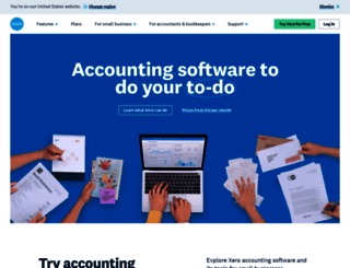 xero.com screenshot