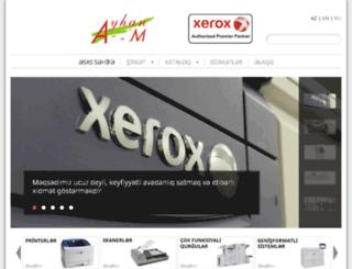 xeroayhanm.az screenshot