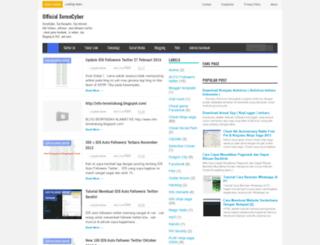 xeroncyber.blogspot.com screenshot