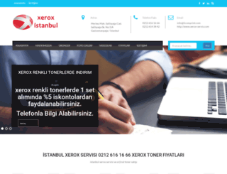 xerox-servis.com screenshot