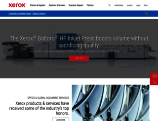 xerox.com screenshot