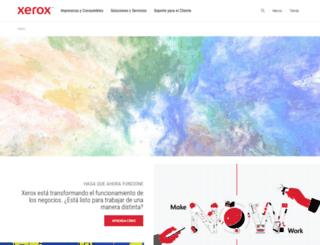 xeroxtienda.com.mx screenshot
