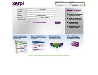 xerpi.com screenshot