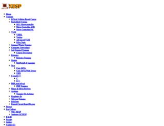 xesp.in screenshot