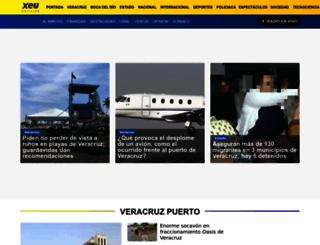 xeu.com.mx screenshot