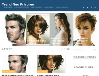 xfrisuren.com screenshot