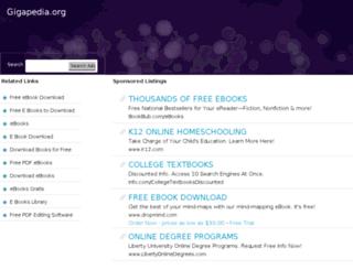 xgirl.gigapedia.org screenshot