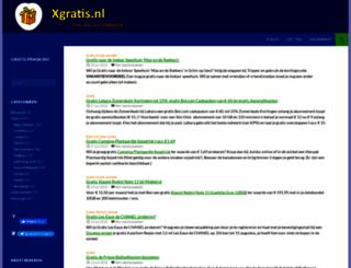 xgratis.nl screenshot