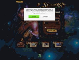 xhodon.com screenshot
