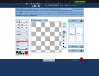 xiconeditor.com screenshot