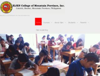 xijen.edu.ph screenshot