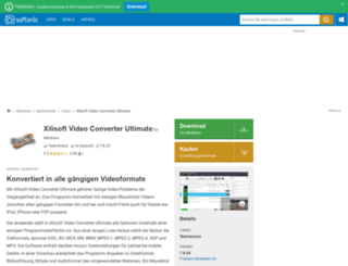 xilisoft-video-converter-ultimate.softonic.de screenshot