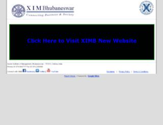 ximb.ac.in screenshot