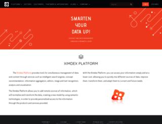 ximdex.com screenshot