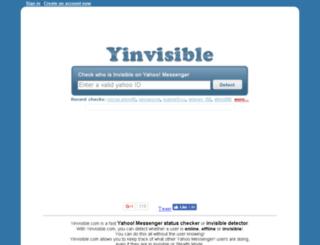 xinvisible.com screenshot