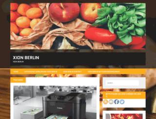xion-berlin.de screenshot