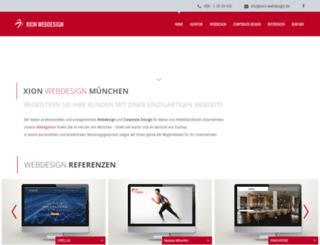 xion-webdesign.de screenshot
